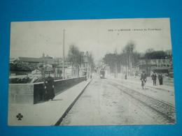 "87 ) Limoges - N° 366 - AVENUE DU PONT-NEUF  "" Tram "": Année 1912 - EDIT : C.C.C.C - Limoges"