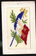 CARTE BRODEE HONNEUR PATRIE CP CIRCULEE - Patriottisch