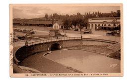 Carcassonne -le Pont Marengo Sur Le Canal Du Midi - Voir état- - Carcassonne