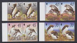 Falkland Islands 2002 WWF/Penguins 4v (pair)  ** Mnh (37728A) - Falklandeilanden