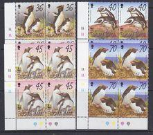 Falkland Islands 2002 WWF/Penguins 4v  Bl Of 4  ** Mnh (37728B) - Falklandeilanden
