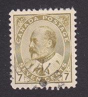 Canada, Scott #92, Used, Edward VII, Issued 1903 - 1903-1908 Regering Van Edward VII