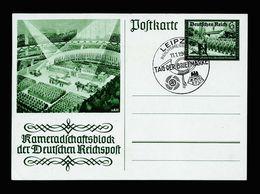 A5175) DR Ganzsache Mi.P292 Mit Sonderstempel Tag Der Briefmarke 11.1.42 - Deutschland