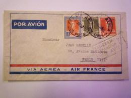 ENVELOPPE  Au Départ De  BUENOS AIRES  à Destination De  PARIS  1935    - Lettres & Documents