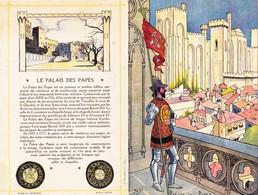 Menu Publicitaire Champagne Charles Heidsieck Reims Palais Des Papes Le Pont D' Avignon (2 Scans) - Menus