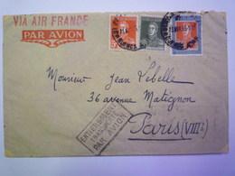 ENVELOPPE  Au Départ De  BUENOS AIRES  à Destination De  PARIS  1935    - Argentine