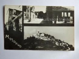 MOTOVUN MONTONA ISTRIA Croazia AK Old Postcard - Croazia