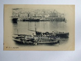 ALGERIA ALGERI ALGER Fisherman Boat Old Postcard - Algeri