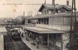 V11871 Cpa 94 Nogent Sur Marne - Gare De Nogent Vincennes - Nogent Sur Marne