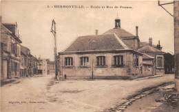 51 - MARNE / Hermonville - 513170 - Ecole Et Rue De Fismes - Other Municipalities
