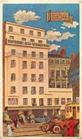 - Ref-W646- Loire Atlantique - Nantes - L Hotel De La Vendee En 1934 - Hotels - Illustrateur - Illustrateurs - - Nantes