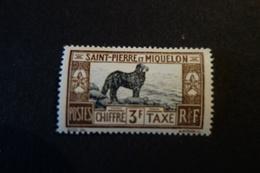 SAINT PIERRE MIQUELON  TAXE N° 31* MH  TB 70 EU - Unused Stamps