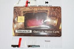 MF  46  --  TELECARTE   PUBLIQUE MONACO  NEUVE SOUS BLISTER  ETAT LUXE - Monaco