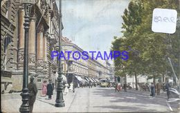 87919 CROATIA ZAGREB VIEW STREET & TRAMWAY POSTAL POSTCARD - Croatia