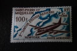 SAINT PIERRE MIQUELON  PA 36 MNH **  C. 19 EU - Unused Stamps