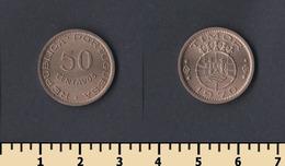 Portuguese Timor 50 Centavos 1970 - Timor