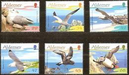 Alderney Aurigny 2006 Yvertn° 281-286 *** MNH Faune Oiseaux Vogels Birds Cote 13,50 Euro - Alderney