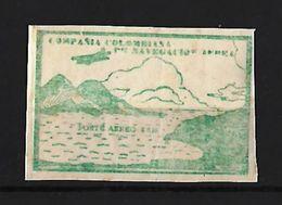Colombia Compañia Colombiana De Navegacion Aerea 1920 - Colombia