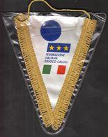 Football / Flag, Pennant / Italy Football Federation - Bekleidung, Souvenirs Und Sonstige