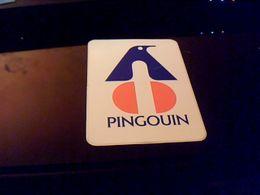 Autocollant Ancien Publicite Ancien Logo Laine Pingouin - Stickers