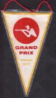 Shooting / Flag, Pennant / GRAND PRIX Brno 1977 / Czechoslovakia - Otros