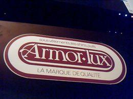 Autocollant Ancien Publicite Ancien Logo ARMOR-LUX Sous Vetepents Pulls Tee Shirts - Stickers