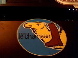 Autocollant Ancien Publicite Ancien  Bottes Le Chameau - Stickers