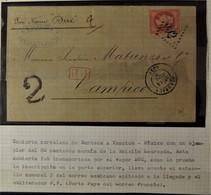 Lettre De Bordeaux à Destination De Tampico - Mexique Par Vapeur Duc - Superbe - 1863-1870 Napoléon III Lauré