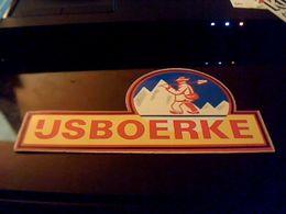 Autocollant Ancien Publicite Agence Immobiliere D Entreprise  US BOERKE Origine Usa - Stickers