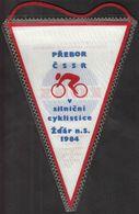 Cycling / Flag, Pennant / Czechoslovakia Championship, Zdar 1984 - Cycling