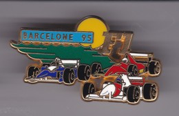 Pin's F1  BARCELONNE 95 SIGNE JFG MIAMI - F1