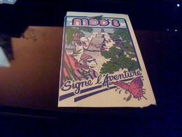 """Autocollant Ancien Publicite Vetement MOD 8 Theme Maya Jungle Bd """" Signe L Aventure"""" - Stickers"""