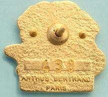 Pin's Arthus Bertrand, Numéroté,  PIN'S CITY, DIJON 1991, COTE D'OR, Zamac, 2 Scans - Arthus Bertrand