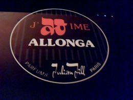 Autocollant Ancien Publicite  Parfumerie Just Time Allonga  JULLIAN  JILL  Paris - Stickers