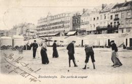 BELGIQUE - FLANDRE OCCIDENTALE - BLANKENBERGHE - Une Partie De Croquet. - Blankenberge