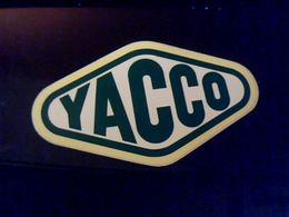 Autocollant Ancien Publicite Huile Yacco - Stickers