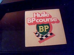 Autocollant Ancien Publicite Huile BP Course - Stickers