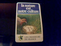 Autocollant Ancien Publicite Les Chasseurs De France La Nature C Est Notre Culture Theme Chasse Gibier - Stickers