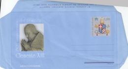 Vaticano 2008 - Aerogramma 250^ Ann. Del Pontificato Di Clemente XIII - Entiers Postaux