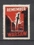 5977-RARA VIÑETA 2ª GUERRA MUNDIAL 1943 CONTRA OCUPACION NAZI,OCUPACION ALEMANIA EN POLONIA GENERAL GOUVERNAMENT,PIDIEND - 1939-44: World War Two