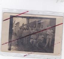 Groupe De Militaire à Raon L'Etape (88)carte Photo . - Guerre 1914-18
