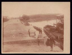 1927 VIEILLE PHOTO CONGO BELGE - BELGISCH CONGO - ** LUSAMBO ** ( Appelé Lusambo Beach ) - Congo Belge - Autres