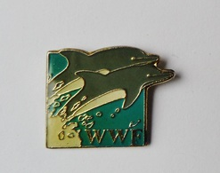 Pin's Animaux WWF Dauphins - Animals