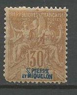 ST PIERRE ET MIQUELON N° 67 NEUF* CHARNIERE  / MH - St.Pierre & Miquelon