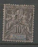 ST PIERRE ET MIQUELON N° 63 NEUF* CHARNIERE  / MH - St.Pierre & Miquelon