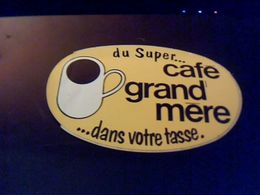 Autocollant  Publicite  Cafe Grand Mere - Stickers