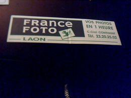 Autocollant  Publicite  Magasin France Fotoa Laon Theme Photograpphe - Stickers