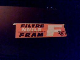 Autocollant  Publicite  Filttre A Huile RFAM - Stickers