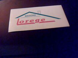 Autocollant  Publicite Maisons  Orege - Stickers