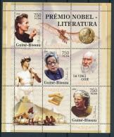 D- [400902] **/Mnh-Guinée-Bissau 2005 - BLPrix Nobel De La Littérature - Prix Nobel